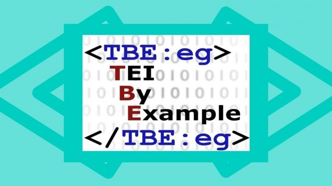 TEI By Example logo