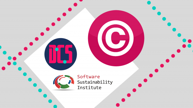 Copyright logo, CDCS logo and SSI logo